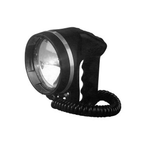 Watertight portable Searchlight 24V 75W with 5 mtr cable IP68