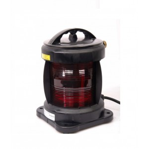 Navigation light single - Port Red + certificate without lamp